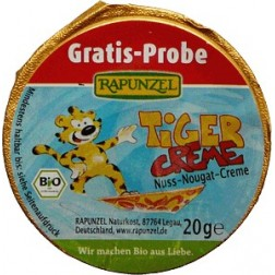Tygr - Oříško-nugátová pomazánka 20g Rapunzel
