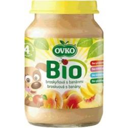 Bio broskvová s banány 190g