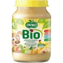 Bio jablečná s banány a meruňkami 190g VÝPRODEJ 2KS exp.11.2.2016