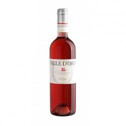 Víno Valle D'ORO / Cerasuolo Montepulciano D'Abruzzo DOP 2012 0,75l růžové