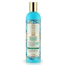 Rakytnikový šampón pro slabé a poškozené vlasy - Efekt laminace NATURA SIBERICA 400ml