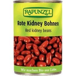 Bio fazole červená ledvina sterilovaná 400g  RAPUNZEL
