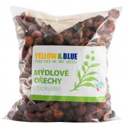 Mýdlové ořechy 1kg sáček Yellow+Blue