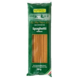 Bio špagety celozrnné 500g Rapunzel