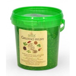 Dobré koření Grilovací byliny 300g GREŠÍK (kyblík)