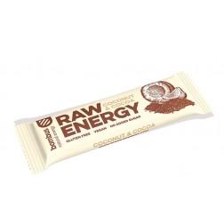 Tyčinka BOMBUS RAW ENERGY Kokos + Kakao 50g