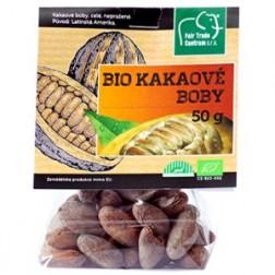 Bio kakaové boby nepražené 50g