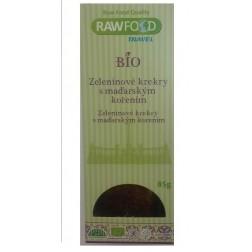 BIO Zeleninové krekry s maďarským kořením 85g RAWFOOD