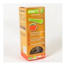 Krekry s řapíkatým celerem a rajčaty BIO 100g RAWFOOD
