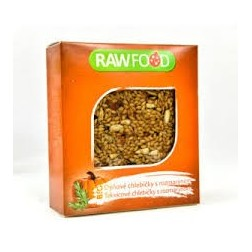 BIO dýňové chlebíčky s rozmarýnem 100g RAWFOOD