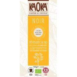Bio čokoláda hořká s kousky kakaa KAOKA 100 g