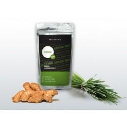 GREEN Detox Mix 200g Health link (pšenice+zázvor)
