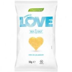 Bio křupky LOVE mořská sůl 50g