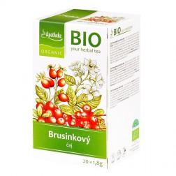 Čaj Brusinkový 36 g BIO MEDIATE