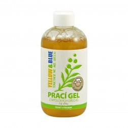 Prací gel z mýdlových ořechů NA VLNU A JEMNÉ PRÁDLO 250ml Yellow+Blue   *