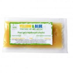 VZOREK Prací gel z mýdlových ořechů bez vůně (jedna dávka v sáčku) Yellow+Blue