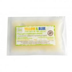 VZOREK Prací gel PRO FUNKČNÍ SPORTOVNÍ TEXTIL (jedna dávka v sáčku) Yellow+Blue
