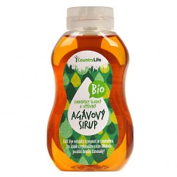Sirup agávový BIO 250ml COUNTRY LIFE