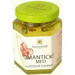 Romantický med a růžová poupata BIO 230g