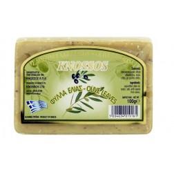Řecké olivové mýdlo OLIVOVÉ LISTY 100g Knossos