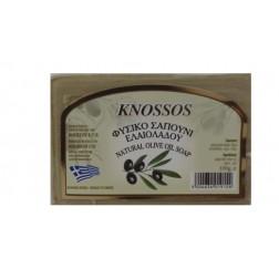 Řecké olivové mýdlo ZELENÉ 100g Knossos