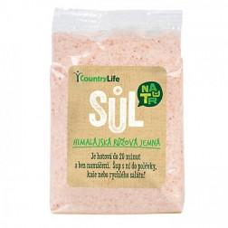 Sůl himalájská růžová jemná 500 g COUNTRY LIFE