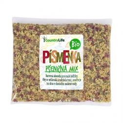 Těstoviny písmenka pšeničná mix 250 g BIO COUNTRY LIFE
