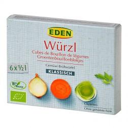 Bujon zeleninový WÜRZL kostky 66 g BIO EDEN