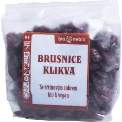 Bio brusnice klikva s jablečnou šťávou 75 g (brusinky)