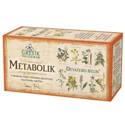 Metabolik 20x1,5g GREŠÍK - porcovaný VÝPRODEJ 4KS exp.14.4.2016