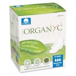 Dámské vložky s křidélky - denní 10ks Bio bavlna ORGANYC
