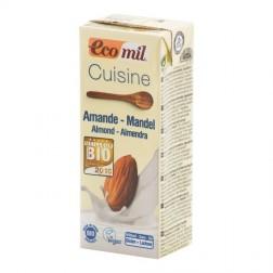 Kulinářská specialita z mandlí 200ml BIO ECOMIL