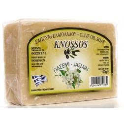 Řecké olivové mýdlo JASMÍN 100g Knossos