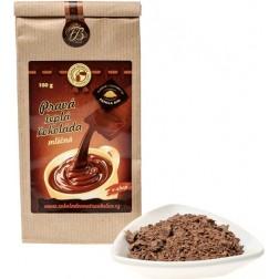 Teplá čokoláda MLÉČNÁ 100g Čokoládovna Troubelice