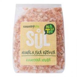 Sůl himalájská růžová hrubá 500 g COUNTRY LIFE