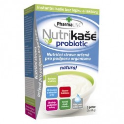 Nutrikaše probiotic natural 3x60g