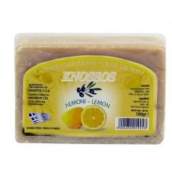 Řecké olivové mýdlo CITRON 100g Knossos