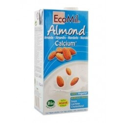 Nápoj ze sladkých mandlí s kalciem 1000 ml BIO ECOMIL
