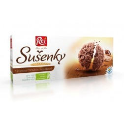 Sušenky kakaové s žitnou moukou 120g REJ