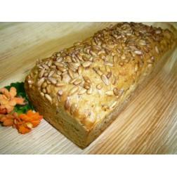 Kváskové pečivo Chléb POHANKOVÝ BEZLEPKOVÝ 400g BALENÝ (naskladnění každé pondělí)