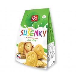 Sušenky dětské Jablečné 190g REJ