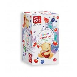 Čaj dětský Šípkový s lesním ovocem26g (20 sáčků) REJ