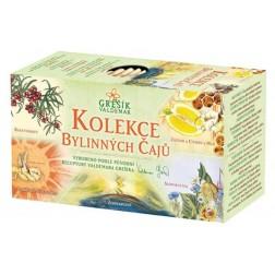 Kolekce Bylinných čajů GREŠÍK - porcovaný 5x4nál.sáčků