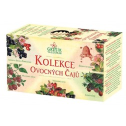 Kolekce Ovocných čajů GREŠÍK - 5x4nál.sáčků porcovaný