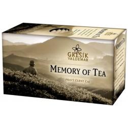 Memory of Tea černý čaj GREŠÍK - 20x1,8g porcovaný