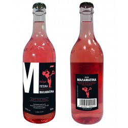 Víno MALAMATINA Retsina DRY ROSÉ 0,5l