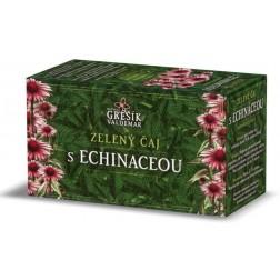 Zelený čaj s echinaceou GREŠÍK - 20x1,5g porcovaný