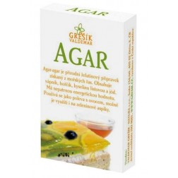 Agar 20g GREŠÍK přírodní želatina
