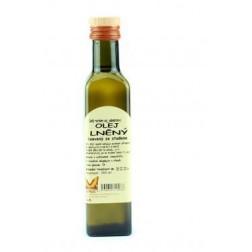 Olej lněný - za studena lisovaný 250ml Natural