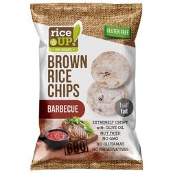 Rýžové chipsy barbecue 60g REJ